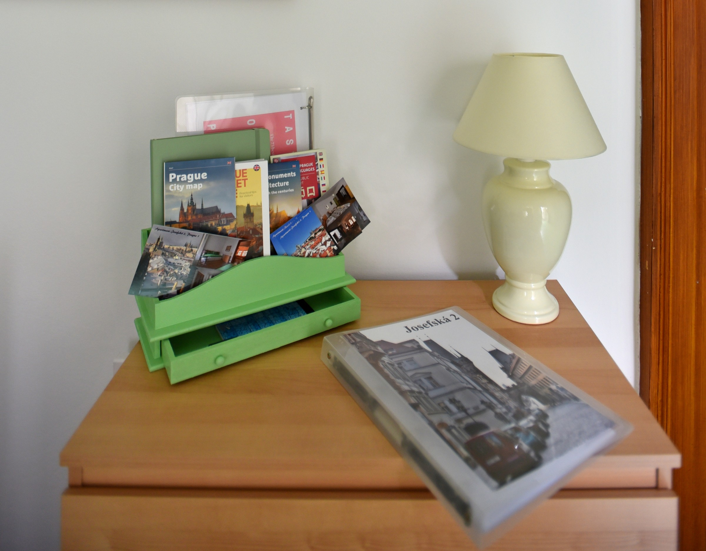 There Is Free WiFi Throughout The Apartment And A Selection Of Plans Of  Prague And Guide Books Can Be Found In The Entry Sitting Area.